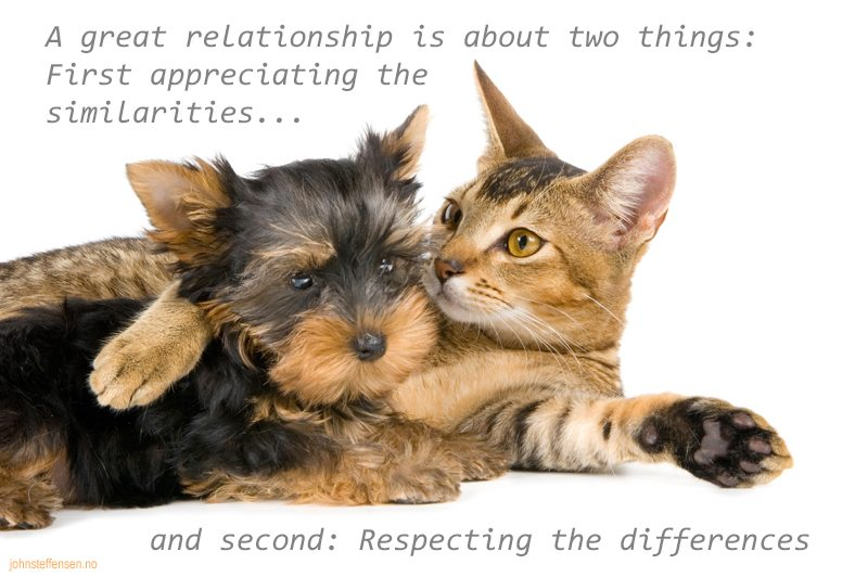 A great relationship... www.johnsteffensen.no