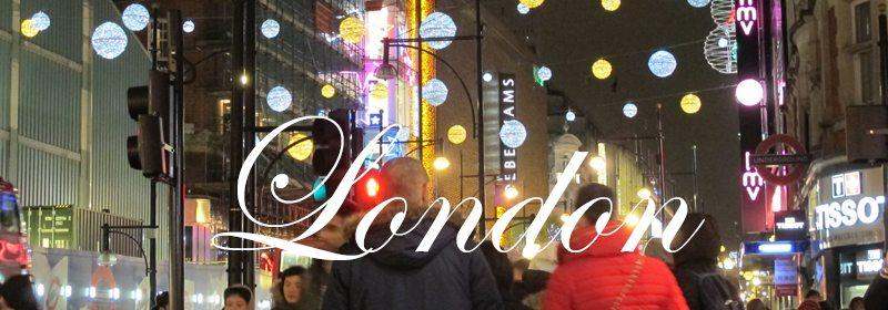 Julepyntet Oxford Street i London. Foto: John Steffensen
