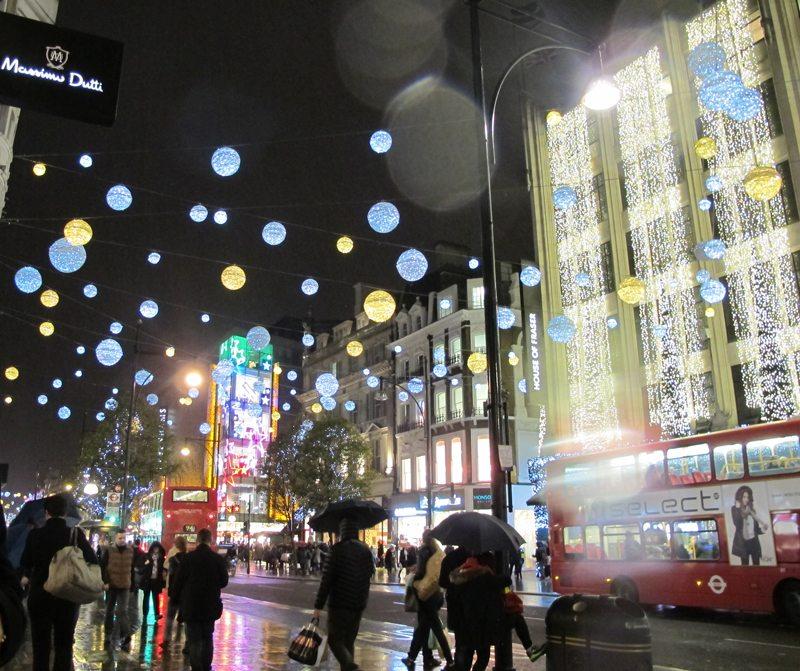 London; Oxford Street, 2015 - Foto John Steffensen