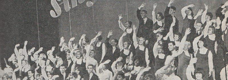 Sing Out Deutschland trollbandt 700 tenåringer i Landåshallen 17. mai 1967. www.johnsteffensen.no