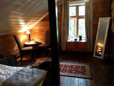 Rødseter Inn, Supphelledalen, kan tilby store og koselige rom. Foto - John Steffensen, johnsteffensen.no