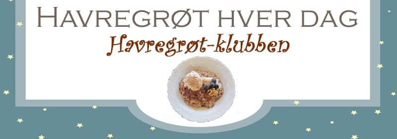 Havregrøt-klubben for deg som elsker havregrøt og som er på jakt etter nye oppskrifter på havregrøt. www.johnsteffensen.no