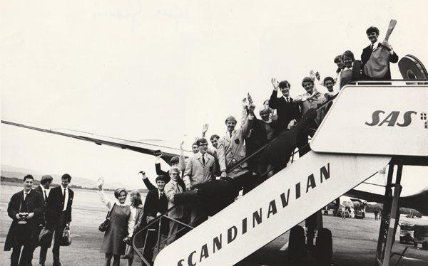 Blant de mange spennende tingene Ten Singerne fikk oppleve, var en uforglemmelig Danmarksturne. www.johnsteffensen.no