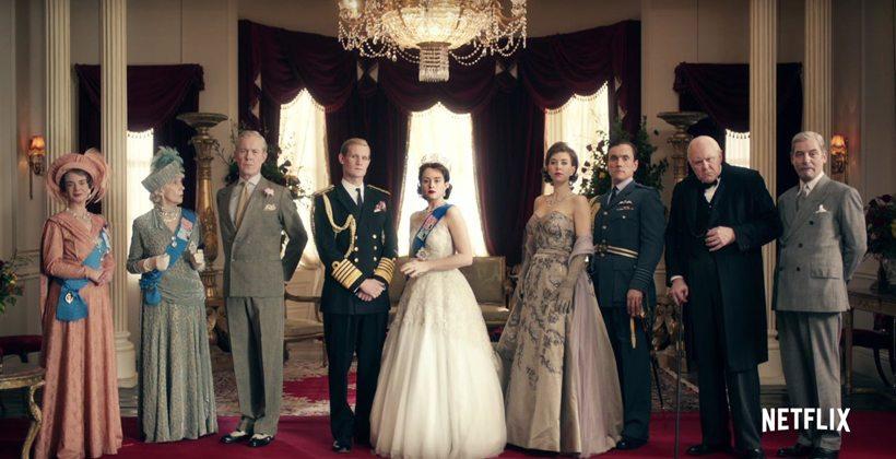 Serien om Dronning Elixabeth II er glimrende!