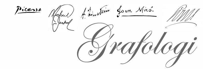 Signaturen eller underskriften vår røper oss... johnsteffensen.no