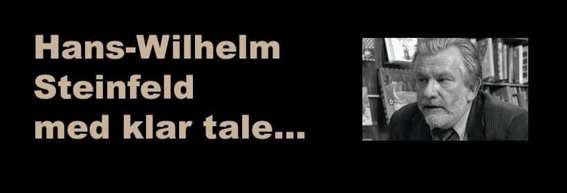Hans-Wilhelm Steinfeld med klar tale...