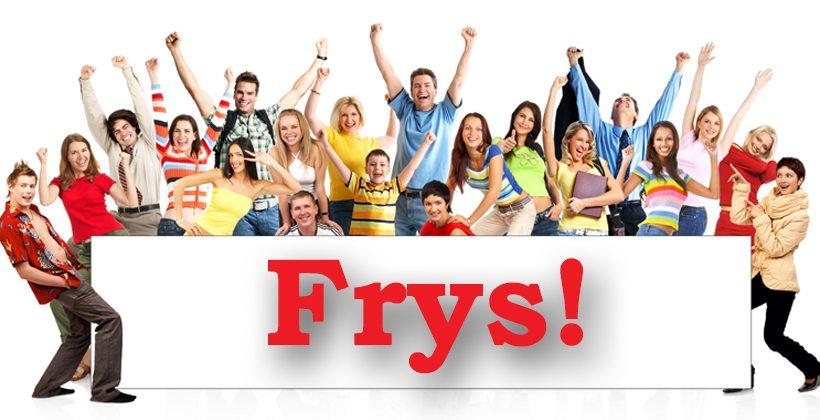 Selskapsleker for voksne - Leken FRYS passer både til litt større barn og voksne. www.johnsteffensen.no
