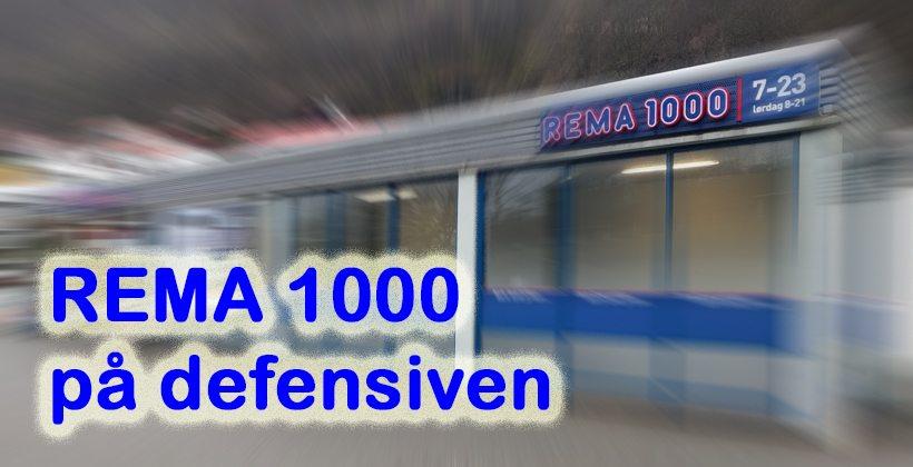 Rema 1000 opplever omsetningssvikt og tap av markedsandeler etter at Rema kastet ut diverse produsenter. Foto - www.johnsteffensen.no