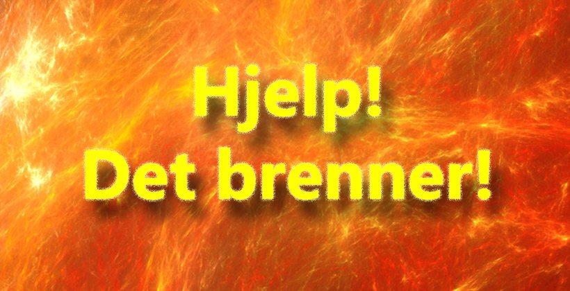 Alles store mareritt: Hjelp, det brenner! www.johnsteffensen.no