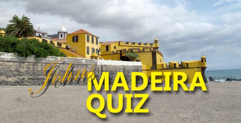 Sjekk dine kunnskaper om Madeira i Johns Madeira quiz. www.johnsteffensen.no