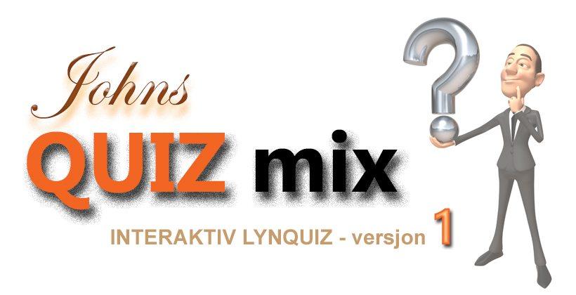 Johns Quiz Mix er en serie på johnsreffensen.no