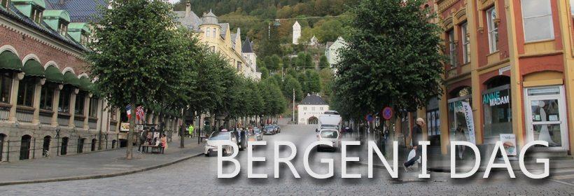 Bergen i dag. www.johnsteffensen.no