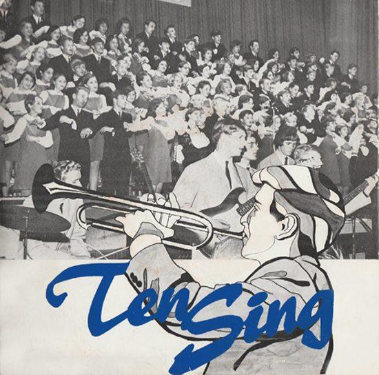 Coveret til Ten Sing Bergens aller første plateutgivelse. www.johnsteffensen.no