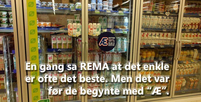 """Rema 1000 har tydeligvis glemt sitt mest kjente salgord; """"Det enkle er ofte det beste!"""" www.johnsteffensen.no"""