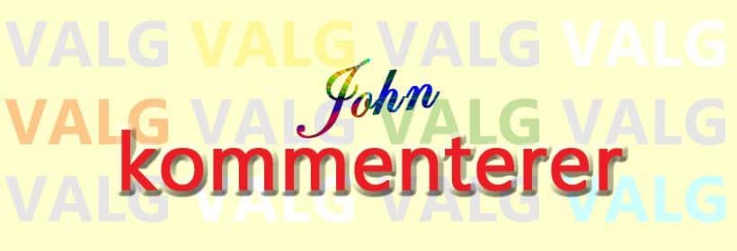 Apropos Stortingsvalget 2017. John kommenterer. www.johnsteffensen.no