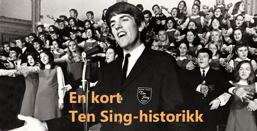 Denne korte Ten Sing-historikken omhandler perioden 1967-1980 og er ført i pennen av John Steffensen. www.johnsteffensen.no