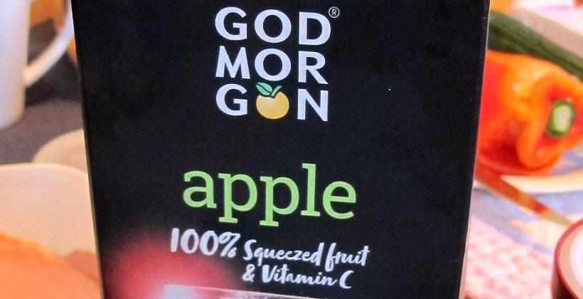 God Morgon eplejuice er usedvanlig velsmakende. Foto - John Steffensen