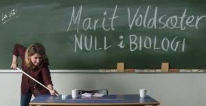 Marit Voldsæter fikk null i biologi, men ikke på scenen…