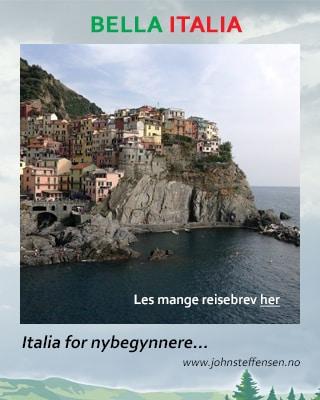 Italia. Flere artikler med reisetips og praktiske opplysninger. www.johnsteffensen.no
