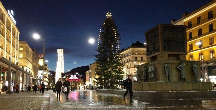 Julepyntet Bergen 2017. Foto: John Steffensen