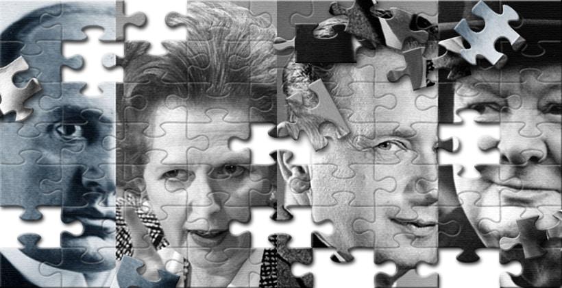 Vår felles fremtid formes av vår historie. Collage laget av www.johnsteffensen.no