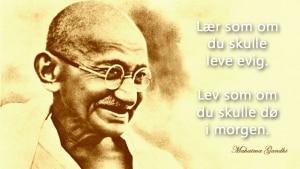 Mahatma Gandhi sitat