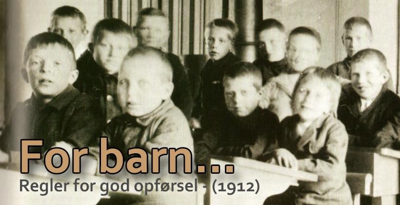 Høflighet og god opførsel er en pryd for de unge. www.johnsteffensen.no