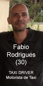 Taxi Driver Fabio Rodrigues, Funchal - Madeira