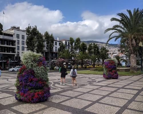 Fra sentrum av Funchal, Madeira.