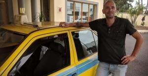 Taxi på Madeira. Vår mann i Funchal