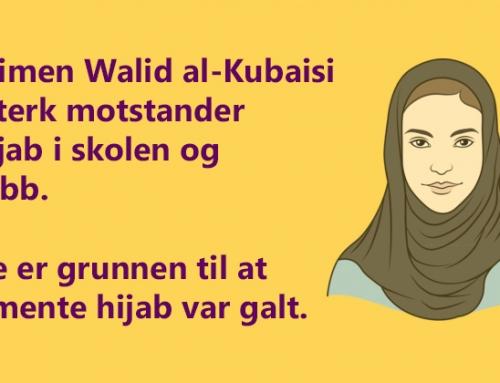 – Hijab et symbol på politisk islam