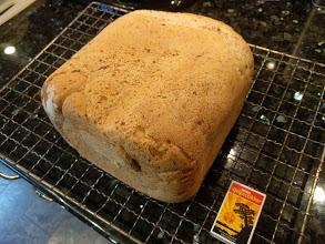 Brød som er bakt med Morphy Richards bakemaskin. Dette er den mellomste varianten. www.johnsteffensen.no