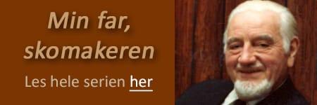 Min far skomakeren handler om skomakermester Frank Steffensen (1912-1980). www.johnsteffensen.no