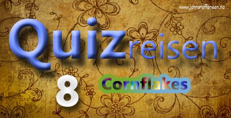 Åttende etappe av Quizreisen. Test dine kunnskaper på johnsteffensen.no