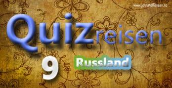 Hvor mye kan du om Russland? Test dine kunnskaper i Quizreisen 9. www.johnsteffensen.no