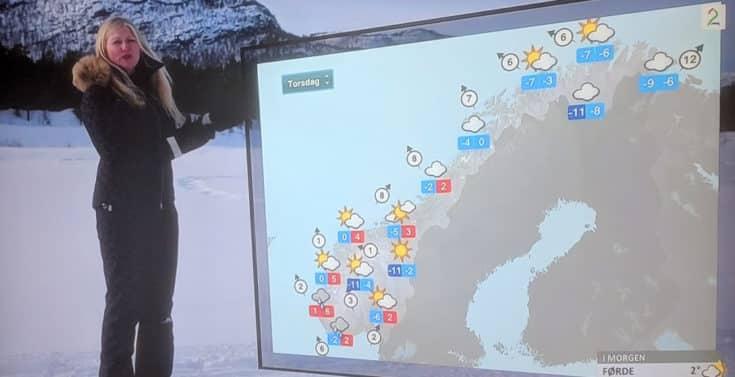 Jeg synes at TV2 sin værmelding har sett bedre dager... www.johnsteffensen.no