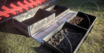 I disse pallekarmene skal bl.a. dyrkes gulrøtter og poteter. Foto - www.johnsteffensen.no
