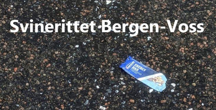 Sykkelrittet Bergen - Voss kan like gjerne kalles for Svinerittet Bergen - Voss