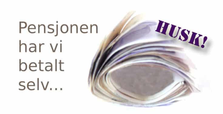 Det er ikke vår feil at innbetalt trygdeavgift over lønnsslippen aldri ble spart eller satt til side... www.johnsteffensen.no