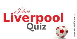 Interaktiv quiz om Liverpool FC