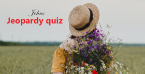 Jeopardy quiz – En Flip quiz