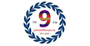9 år siden oppstarten