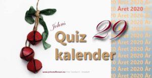 Quizkalender 29