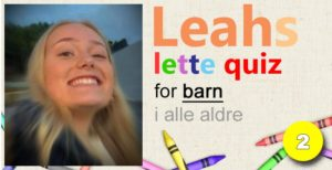 Leahs lette Quiz – 2: Statsminister