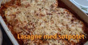 Søtpotet-lasagne smaker bedre enn vanlig lasagne