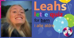 Leahs lette quiz – 19: Rådebank