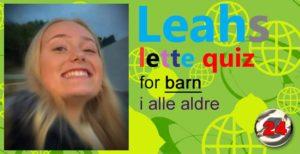 Leahs lette quiz – 24: Piggsvin
